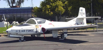 Cessna T-37 Tweet at the Pacific Coast Air Museum - click to enlarge
