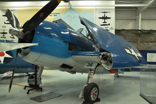 The grumman wildcat left and hellcat right two of the us navy and